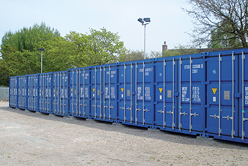 Warehouse container storage prices Southampton Salisbury Gosport